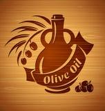 Modelli di progettazione dell'olio d'oliva di vettore per la vostra progettazione Immagine Stock Libera da Diritti