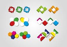 Modelli e simboli Immagine Stock Libera da Diritti