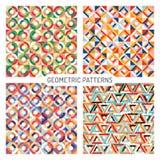Modelli geometrici senza cuciture astratti illustrazione vettoriale