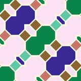 Modelli geometrici senza cuciture astratti Immagine Stock Libera da Diritti