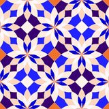 Modelli geometrici senza cuciture astratti Fotografia Stock Libera da Diritti
