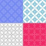 Modelli geometrici senza cuciture di colore di vettore Immagine Stock