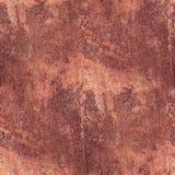 Modelli il backgroun senza cuciture di struttura del metallo di lerciume della ruggine arrugginita di marrone Fotografia Stock