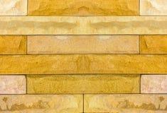 Modelli il fondo della parete di pietra fatto con i blocchi Fotografia Stock