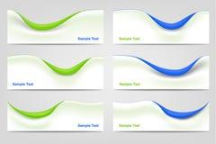 Modelli ondulati di affari Fotografie Stock