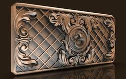 Modelli per interior design architettonico, artista, struttura, progettazione grafica, architettura, illustrazione, simbolo, affl illustrazione di stock