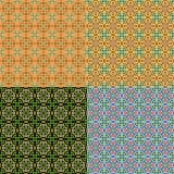 Modelli piastrellati multicolori classici senza cuciture Immagine Stock Libera da Diritti