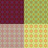 Modelli piastrellati multicolori senza cuciture, stile arabo Fotografie Stock