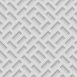 Modelli senza cuciture con le forme smussate Fondo monocromatico di Pavetment di gradazione di grigio astratta Fotografia Stock