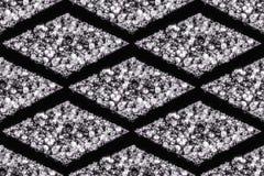 Modelli senza cuciture dei diamanti immagini stock libere da diritti