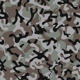 Modelli senza cuciture di Forest Leaf Camouflage Fotografia Stock