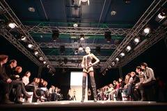 Modelli sul podio del Premiere dell'accumulazione del CPM Immagini Stock