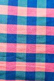 Modelli tessuti cotone Immagini Stock Libere da Diritti