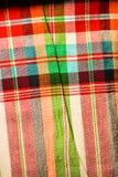 Modelli tessuti cotone Fotografia Stock Libera da Diritti