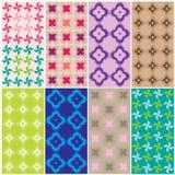 Modelli in vario colors2 Fotografia Stock Libera da Diritti