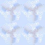 Modellkaraktärsteckningrunda av retro blått för krullning Royaltyfri Foto