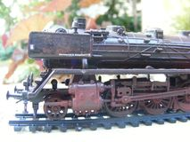 Modelllokomotiv arkivfoton