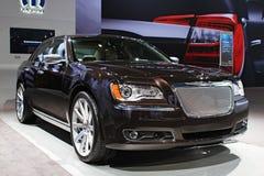 Modello 2011 della Chrysler 300C Fotografia Stock Libera da Diritti