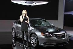 Modello 2011 della Chrysler 300S Fotografie Stock
