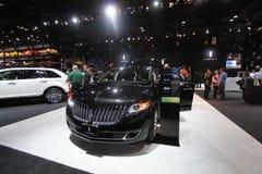 Modello 2011 di Lincoln all'esposizione automatica del Chicago Immagine Stock Libera da Diritti