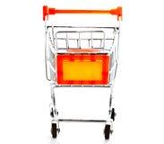 Modello 3 del carrello di acquisto Fotografie Stock Libere da Diritti