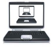 modello 3d dei computer portatili illustrazione vettoriale
