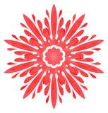 Modello acquerello - fiore dell'estratto di Rosa Immagine Stock Libera da Diritti