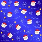Modello adorabile 2 del fondo di Natale illustrazione di stock