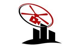 Modello aereo di fotografia illustrazione di stock