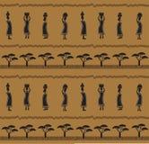 Modello africano Fotografia Stock Libera da Diritti