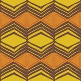 Modello africano senza cuciture del batik illustrazione di stock