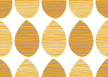 Modello africano senza cuciture di vettore Ornamento a strisce del tessuto di estate Illustrazione senza fine della stampa del te Fotografia Stock Libera da Diritti