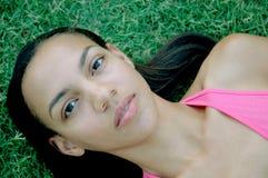 Modello afroamericano 2 Fotografie Stock