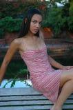 Modello afroamericano Fotografia Stock Libera da Diritti