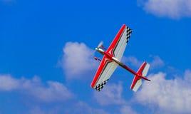 Modello airplane1 Immagini Stock