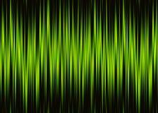 Modello al neon di forma d'onda con lo spazio della copia Fotografia Stock Libera da Diritti