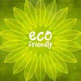 Modello alla moda per Eco amichevole Fotografie Stock Libere da Diritti