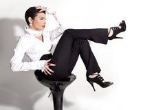 Modello alla moda specializzato delle donne fotografia stock libera da diritti