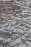 Modello antico della città Immagini Stock