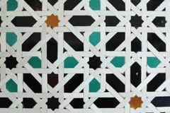 Modello antico delle mattonelle Fotografie Stock