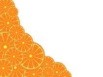 Modello arancio Fotografie Stock