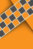Modello arancio astratto del fondo Fotografia Stock Libera da Diritti