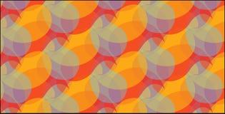Modello arancio e giallo astratto moderno semplice dei sahpes della curva Immagine Stock Libera da Diritti