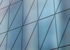 modello architettonico dell'estratto dell'illustrazione 3D Fotografie Stock Libere da Diritti
