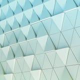 modello architettonico dell'estratto dell'illustrazione 3D Immagine Stock Libera da Diritti
