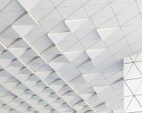 modello architettonico dell'estratto dell'illustrazione 3D Immagini Stock Libere da Diritti