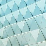 Modello architettonico dell'illustrazione astratta 3D Fotografia Stock