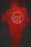 Modello artistico del fondo di vendita di Black Friday illustrazione di stock