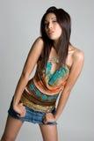 Modello asiatico Fotografia Stock