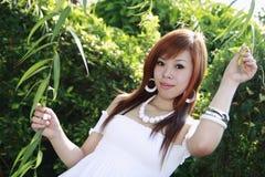 Modello asiatico Fotografie Stock Libere da Diritti